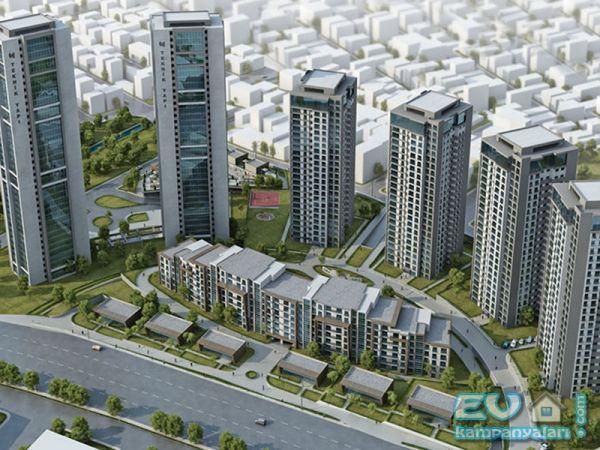 Metropark projesi Halkalı'da