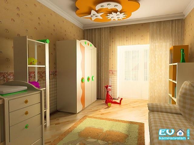 Çocuk Odası Renk Kombinleri