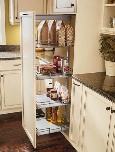 Встроенные шкафы на кухне своими руками 91