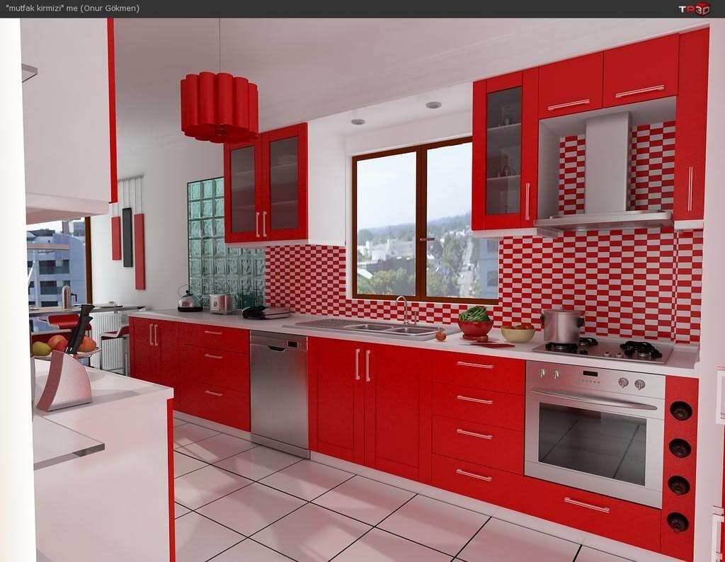 Modern beyaz mutfak dolab dizayni en son dekorasyon modelleri - En Farkl Mutfak Dolab Tasar Mlar 2016 1024x794 Jpg