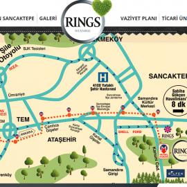 Rings İstanbul Lokasyon