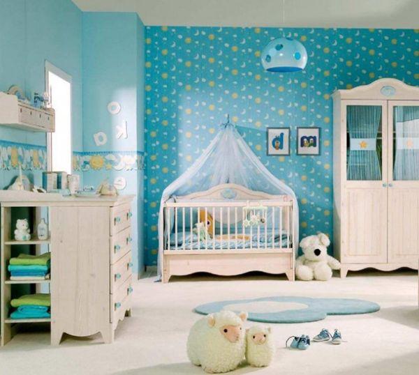 En Güzel Erkek Bebek Odası Dekorasyon Fikirleri 2016