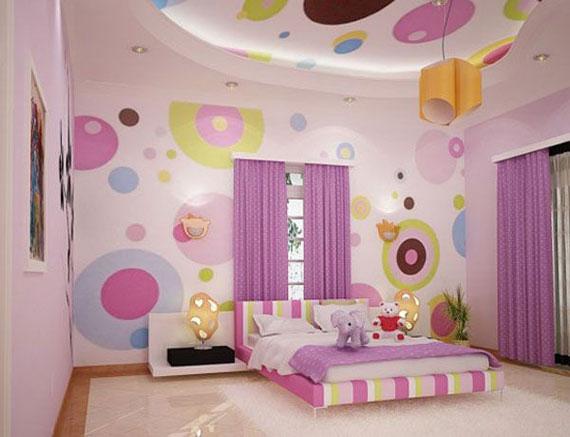 Kız Çocuk Odası Dekorasyon Fikirleri 2016
