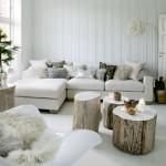 Küçük Odalar İçin Kış Evi Dekorasyon fikirleri