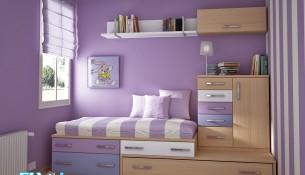 Çocuk Odasında Mat Renklerin Kullanımı