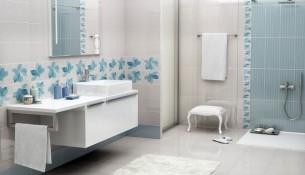 Banyo İçin Mavi Fayans Renkleri