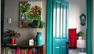 Renkli Ahşap Kapı Rengi