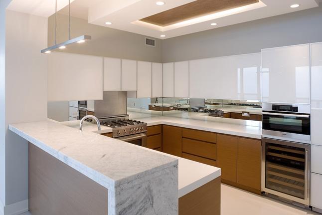Küçük mutfak dekorasyonu renk kombinleri