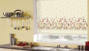 En Şık Mutfaklar İçin Perde Modelleir