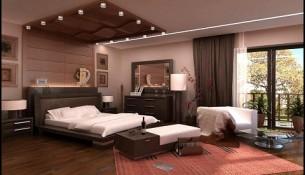 En Tarz Yatak Odası Dekorasyonu