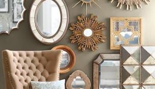 En Güzel Salon Ayna Modelleri 2016