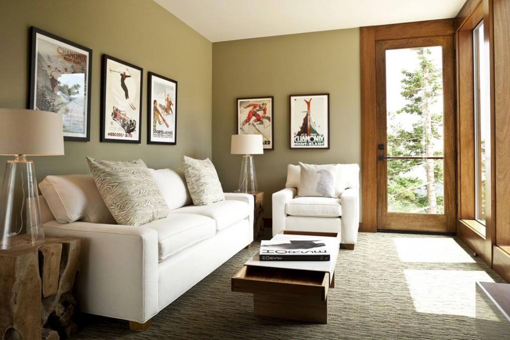Küçük oturma odası dekorasyonu için pratik bilgiler
