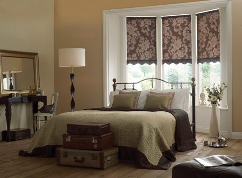 Yatak Odası Desenli Stor Perde Seçimi