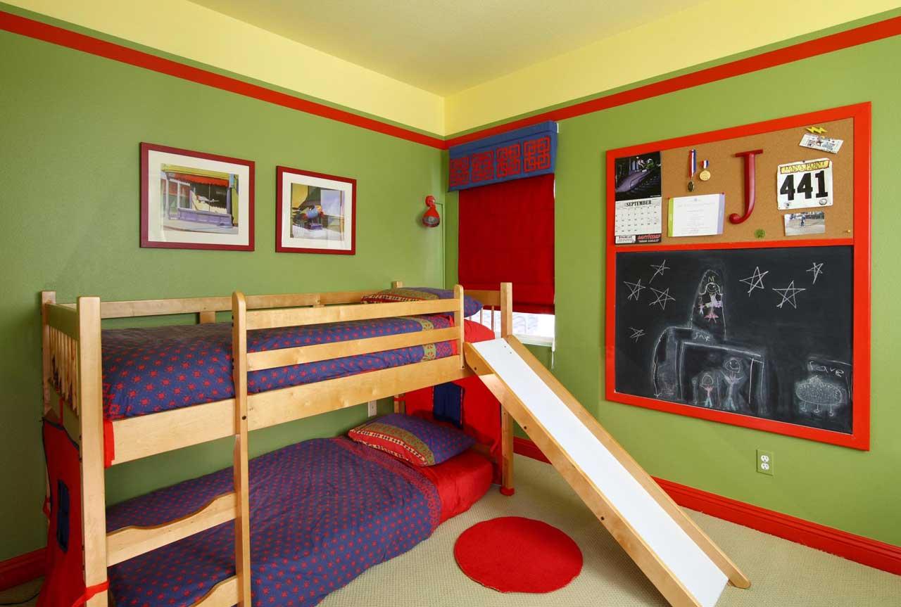 2 Erkek Çocuğu Oalanlar İçin Oda Dekorasyon Fikirleri