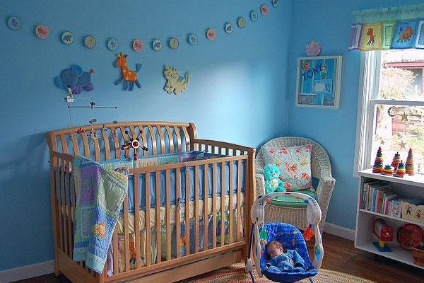 2016 Erkek Bebek Odası Dekorasyon