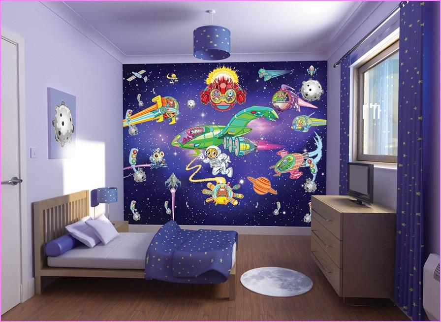 En Yeni Erkek Çocuk Odası Dekorasyon Görselleri