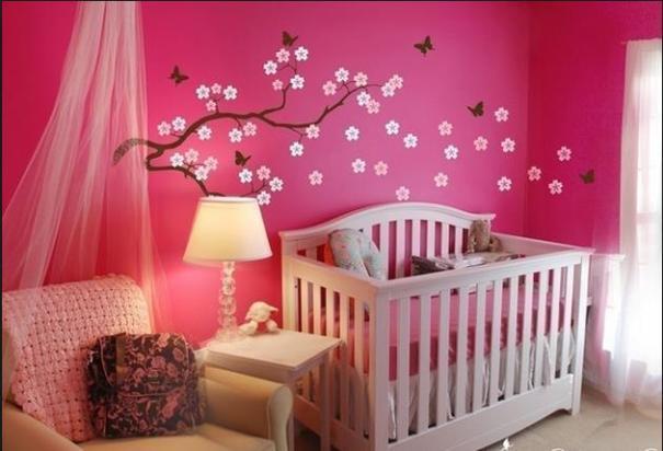 En Yeni Kız Bebek Odaları 2016