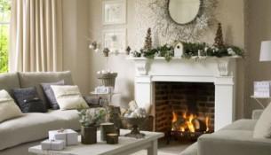 Kış evi Dekorasyon fikirleri