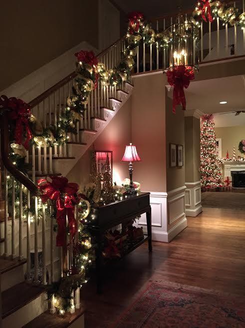 Dubleks Evler İçin Yeni Yıl Ev Süsleme Görselleri